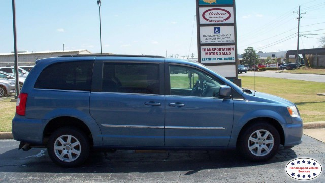 2011 Chrysler Town and Country AutoAbility Wheelchair Van Conversions Rear Entry Chryslerwheelchair van for sale