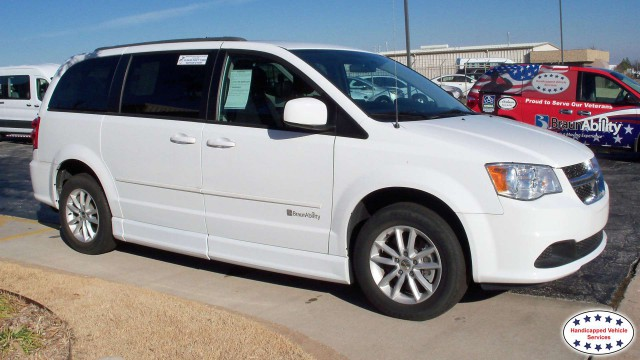 Tulsa, Ok 2014 Dodge Grand Caravan BraunAbility Dodge Entervan IIwheelchair van for sale