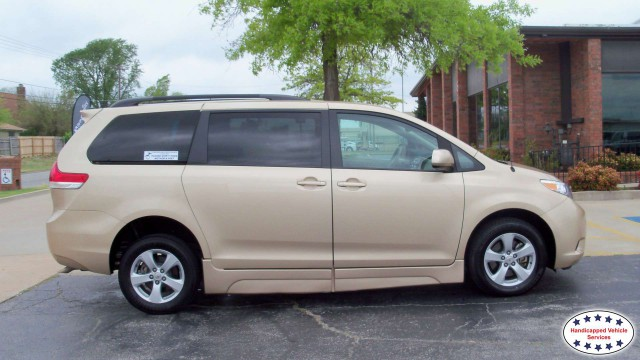 2012 Toyota Sienna Freedom Motors Side Entry Toyota Siennawheelchair van for sale