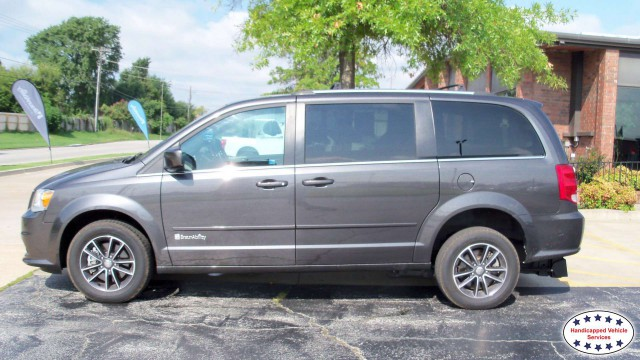 2017 Dodge Grand Caravan BraunAbility Dodge Manual Rear Entrywheelchair van for sale