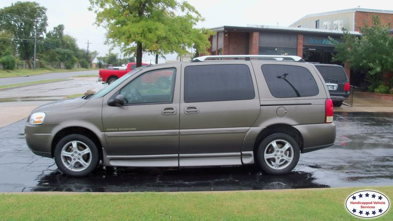 2005 Chevrolet Uplander BraunAbility Chevrolet Entervanwheelchair van for sale