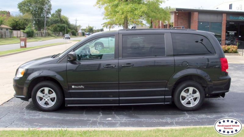 2011 Dodge Grand Caravan BraunAbility Dodge Entervan IIwheelchair van for sale