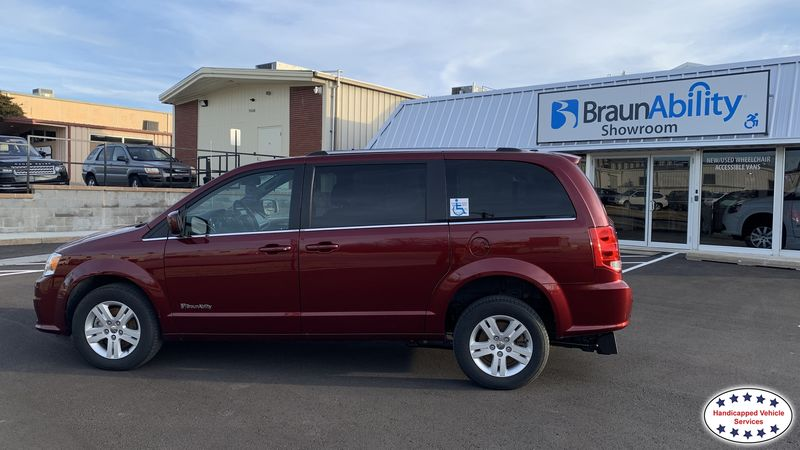 Purcell, Ok 2019 Dodge Grand Caravan BraunAbility Dodge Manual Rear Entrywheelchair van for sale