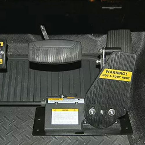 MPS Left Foot Gas Pedal